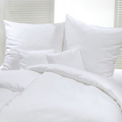 Taie d'oreiller sans volant Coton percale