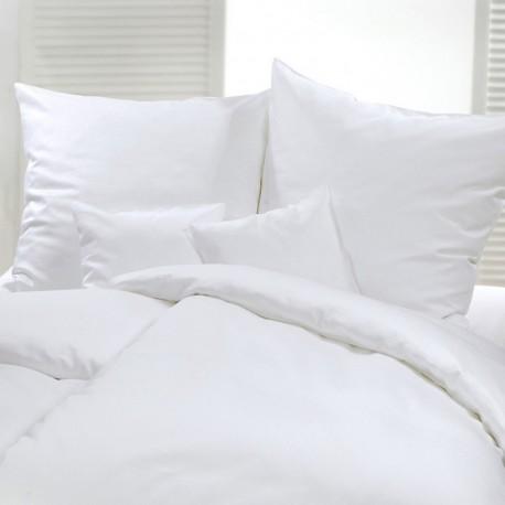 Taie d'oreiller sans volant Satin de coton